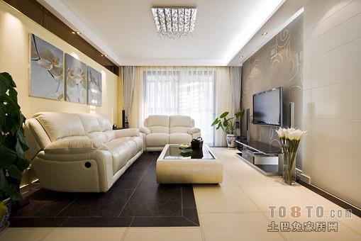 精美混搭3室装饰图91平客厅潮流混搭客厅设计图片赏析