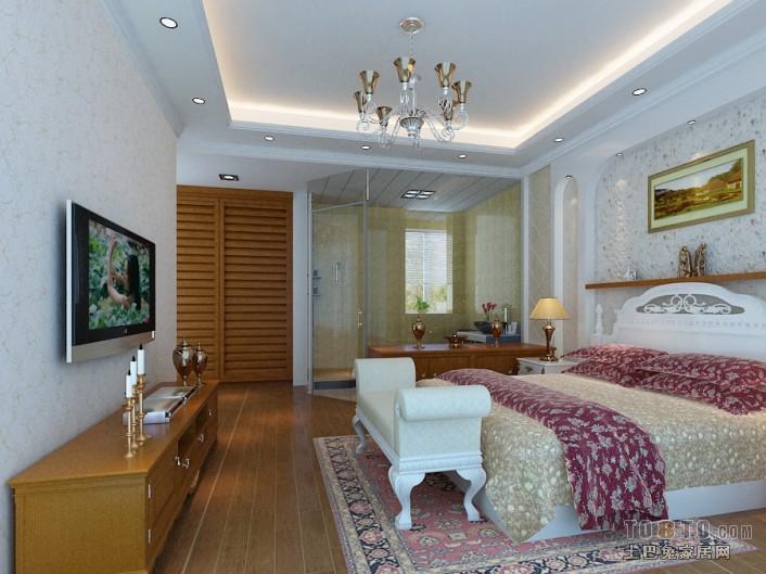 百丽湾 欧式现代卧室装修效果图