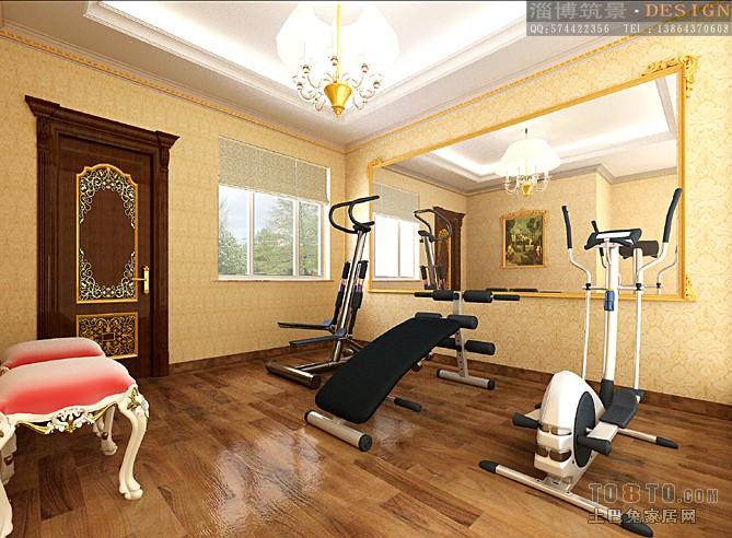效果图首页 客厅装修效果图列表 所属案例:别墅设计 健身房 拷贝图片