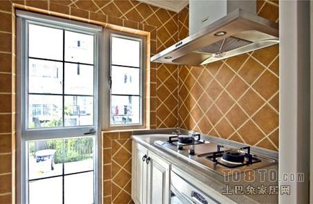 九龙一号-欧式现代厨房装修效果图图片