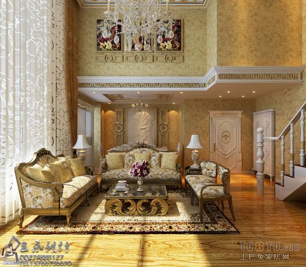 复式家装欧式设计_欧式现代装修效果图