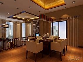 传统日式住宅餐厅装修