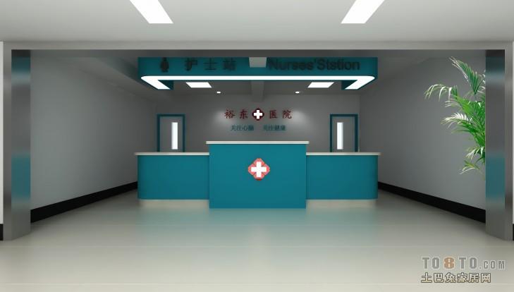 医院设计装修效果图 单张展示 装修效果图 于永东作品高清图片