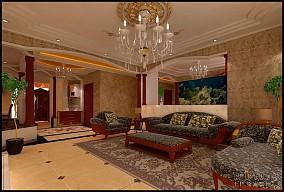 现代婚房风格装修图