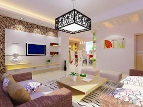 东南亚风格别墅餐厅家装效果图