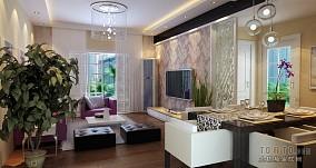 2018精选面积117平复式客厅混搭装修图