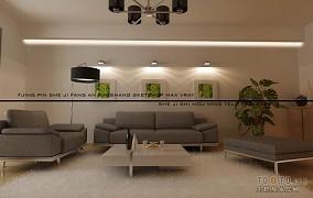 高档别墅装饰室内客厅效果图片