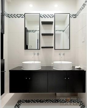 现代卫生间飘窗设计效果图