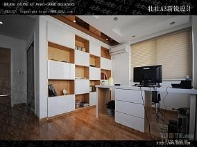 书房木地板装修效果图