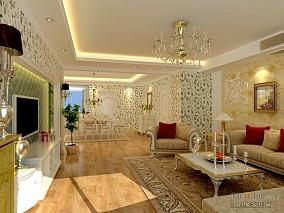 典雅80平米2室一厅效果图