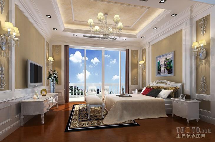 大气117平混搭三居卧室设计案例卧室潮流混搭卧室设计图片赏析