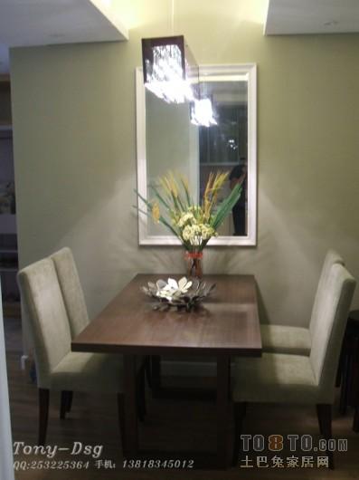 优雅61平混搭二居餐厅图片大全厨房潮流混搭餐厅设计图片赏析
