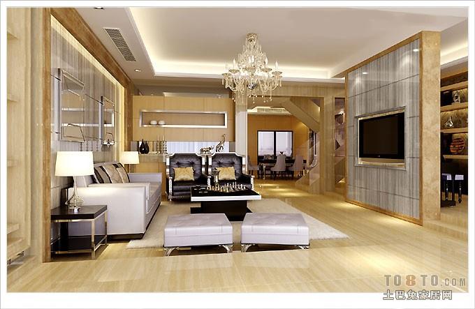 简洁93平混搭三居客厅效果图客厅潮流混搭客厅设计图片赏析
