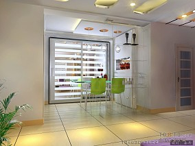 设计美式家庭旧房装修