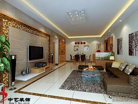室内设计80平米装修案例大全