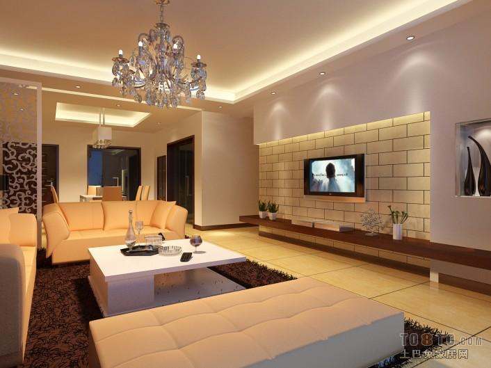 精美大小108平混搭三居客厅装饰图客厅潮流混搭客厅设计图片赏析