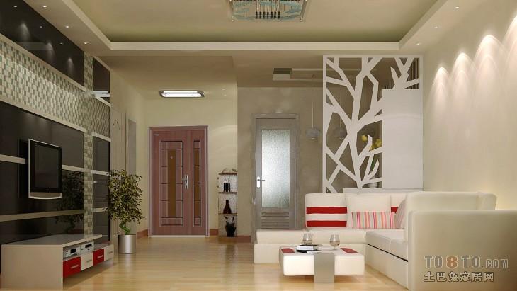华丽61平混搭二居客厅装饰图片客厅潮流混搭客厅设计图片赏析