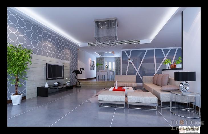 一楼客厅客厅潮流混搭客厅设计图片赏析