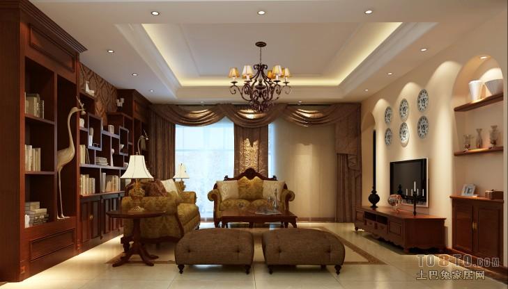 复式家装欧式设计_欧式古典装修效果图