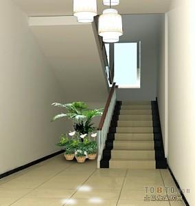 写字楼楼梯间装修效果图大全