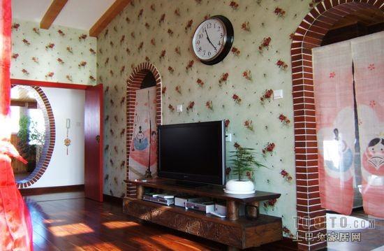 东南亚风格装修效果图 东南亚风情的别墅装修效果图 北京