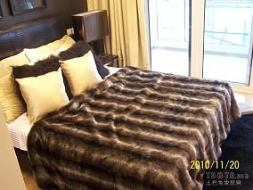 2018精选面积85平小户型卧室混搭装修效果图