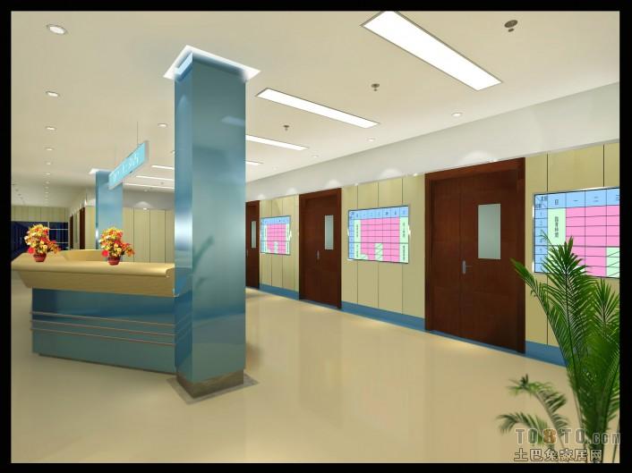 医院设计装修效果图 单张展示 装修效果图 李先生作品高清图片