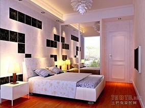 别墅中式电视背景墙设计
