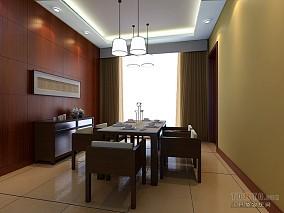 精选108平方三居餐厅混搭效果图片欣赏