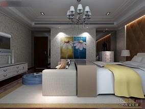 现代简约卧室家装