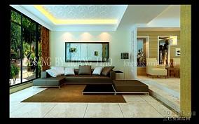 现代欧式客厅装潢图片