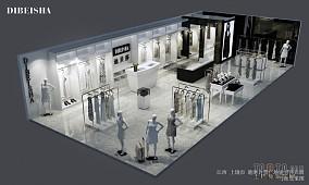三室两厅两卫室内设计效果图