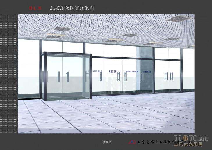 医院设计装修效果图 冯元良作品 高清图片