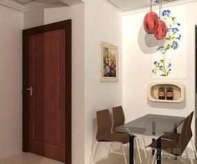 二居室餐厅装修效果图大全2014图片