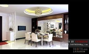 禅风简中式家装卧室设计效果图