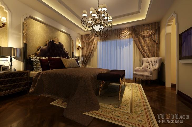 欧式古典卧室装修效果图图片