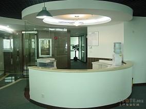 圆形办公室前台设计设计图片赏析