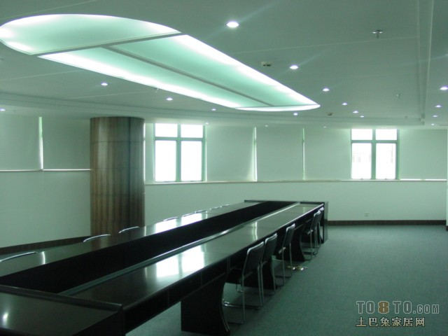 办公室会议室吊顶设计图片赏析