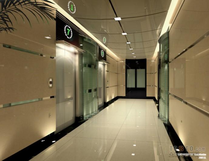 电梯走廊装修图片设计图片赏析