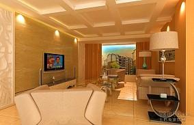 日式创意清新风格电视背景墙装修效果图