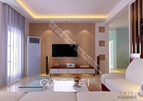 2018精选混搭3室客厅装修设计效果图片欣赏97平