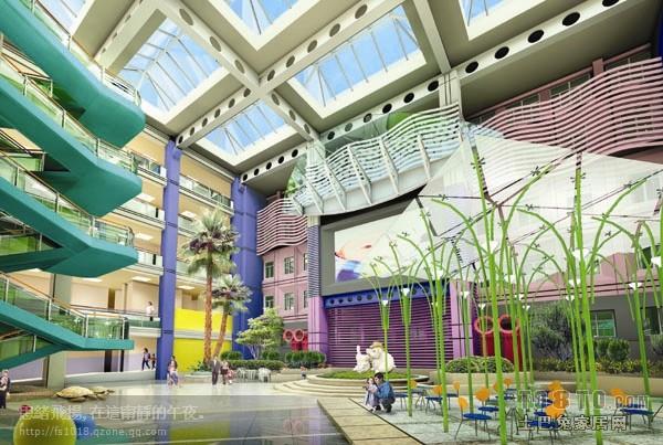儿童医院-医院设计装修效果图