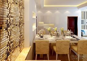 简洁实木餐厅酒柜