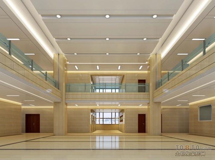 铁建办公楼改造-办公空间装修效果图