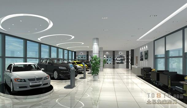 汽车4s店室内专修效果-杭州品众建筑装饰工程有限公司最新作品 专卖高清图片