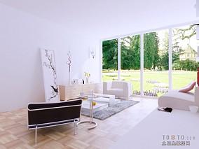 6平米客厅田园家具