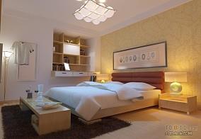 田园风格50平米小户型室内装修效果图