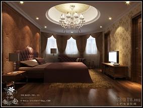 2013卧室实木床图片