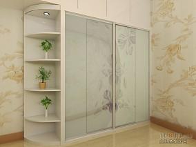 精美面积92平混搭三居卧室装修效果图片
