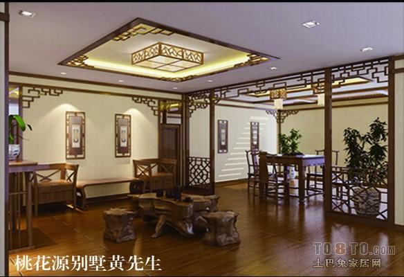 中式古典书房装修效果图图片